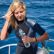 Ljeto, vitamin sea, botox I fileri na 20 m ispod mora s morskim psima